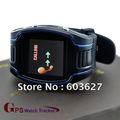 Best price! Sport Security Free Shipping GPRS GPS Watch tracker /Phone/SOS/Montior/Two Way Voice/Over speed limit waring/