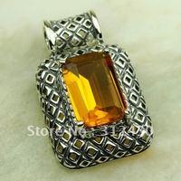 Suppry 5PCS moda de joyería de plata colgante de piedras preciosas joyas morganita envío gratis LP0586 (China (continental))