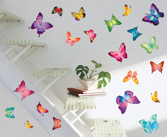 Hot selling,DIY tree and birds Wall Stickers,mix items,Fashion ...