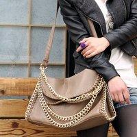 Сумка fashion ladies' handbags with zipper checkered PU, 7 colors, 29*30*11cm simple&elegant bags