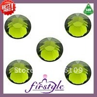 with hole chaton beads SS16 4MM 1440PCS/LOT Crystal Clear Color Flat Back Glass Stone with Center Hole for Charing Decorative