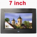 New 7'' LCD Digital Photo Frame With MP3MP4 Player support movie HXB0509