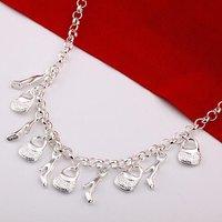 Колье-цепь Necklace New! Tibetan sterling silver men's jewelry necklace / Tibetan silver necklace LKN20