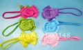 10 Pcs/Lot Wholesale Free Shipping Hot Sale,Promotional Gift Fashion Headband Elastic Hair Band With Beautiful Flower