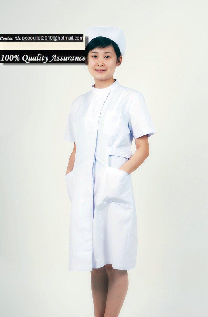 White Uniform Dress