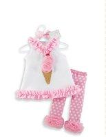Комплект одежды для девочек bule cute baby girl suits