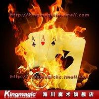 Игрушка для фокусов Kingmagic Appearing Cane Mahka Metal stage magic/magic props/as seen on tv