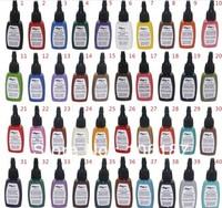 5Bottles Snow White Colour  Professional Tattoo Ink  2Oz Per Bottle For Tattoo Artist