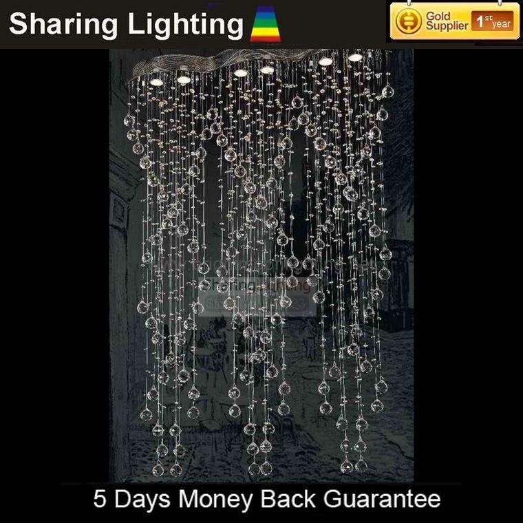 Delen van verlichting 6 lampjes kristallen kroonluchter gratis verzending kristallen lampen - Eigentijdse kroonluchter ...
