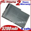 4400mah 6 cells Laptop Battery For Dell Latitude D500 D505 D510 D520 D530 D600 D610 for Inspiron 510m 600m Precision M20