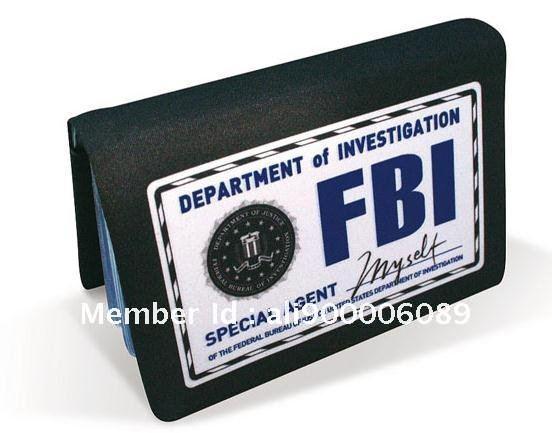 Documentos Retail-NEW-card-wallet-FBI-card-wallet-Cool-card-purse-card-bag-purse-wallet-men-s