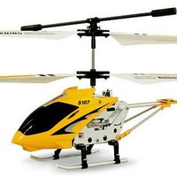 Promotion 15% Off  Original  Syma S107 Rc Helicopter  3CH Remote control  Helicopter  Radio Control  Metal GYRO Toy Helicopter
