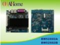 OO Ahome ITX BW52X82A Intel Atom D525 1.8G dual core,Fanless,VGA+24Bit LVDS,12V DC,8COM,2Giga LAN,Mini ITX Motherboard,ITX case
