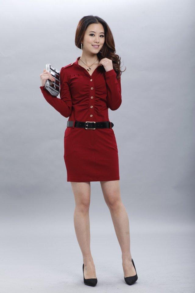 Free shipping 2011 fashion women sweater cotton fleece coat long ...