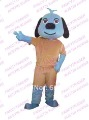 New Naughty Dog Mascot Costume Dog Mascot Costume Dog Fancy Dress Free Sample Accept Drop Ship ...
