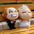 Wholesale 25cm Wedding YOYO CICI Animal Plush Toy,animals Toy free shipping