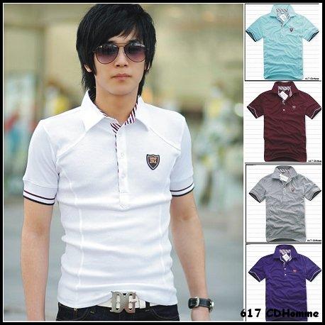 Wholesale Free Shipping 2011 New men's polo shirt, Sexy Men's t shirt short ...