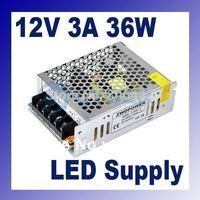 24W 2a импульсный источник питания для светодиодные полосы света, ввода ac100v-240v, выход 12В