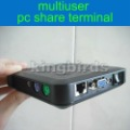 Free shipping cheapest multiuser pc share terminal / PC Station / Thin Client / mini Net Computer / PC sharer