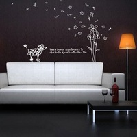 Free shipping ,Wholesale And Retail , PVC wall sticker,Wall decal ,Wallpaper,Room sticker, House decorative sticker ,H-03