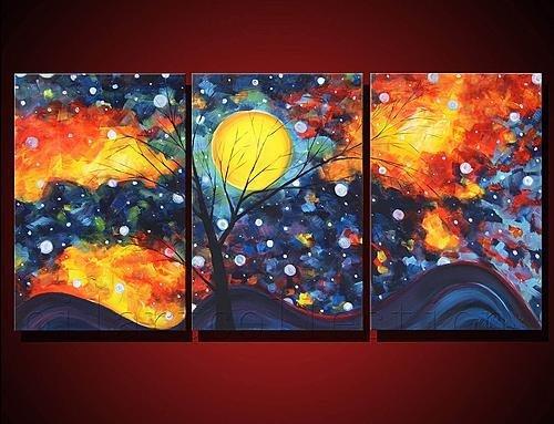 Abstract Landscape Canvas Art Canvas Art Landscape Home