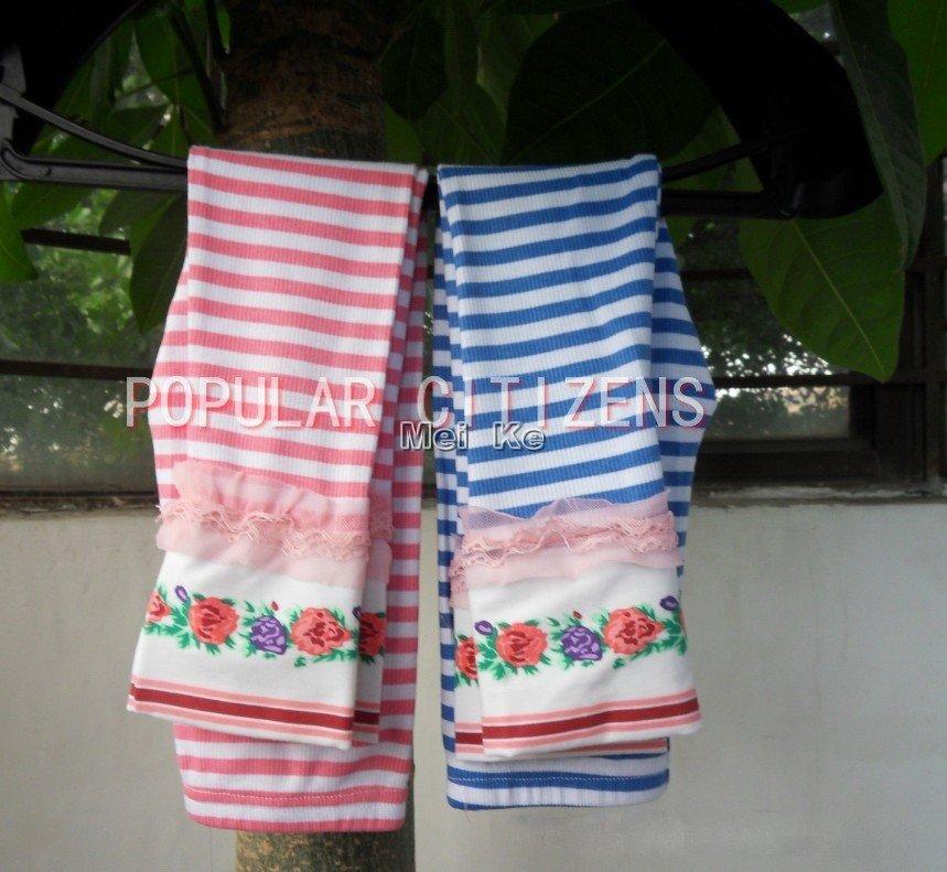 Wholesale Free shipping Wholesale kids yarn render pants children's clothing girl render pants bud sil ...