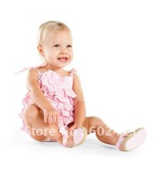 Детский комбинезон 3pcs/lots summer birthday cake cute Romper Romper onepiece Baby climbing clothing 3styles 3 sizes 2030