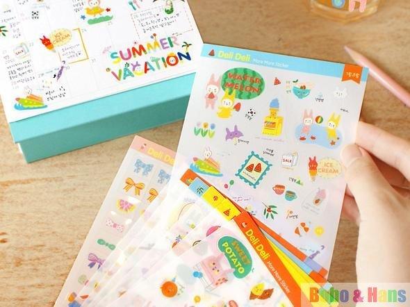 New 10pcs/Set creative vintage lovely child Sticker / paper diary ...
