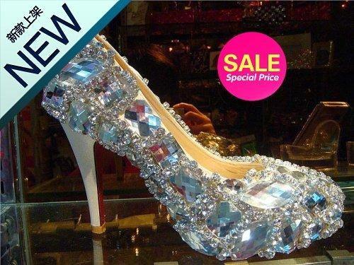 L9992 New Diamond high heels women wedding shoes bridal shoes