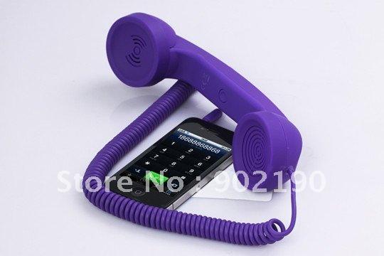 Retro Purple Phone Retro Mobile Phone Handset