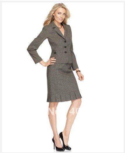 womens suit dress custom suit grey suit