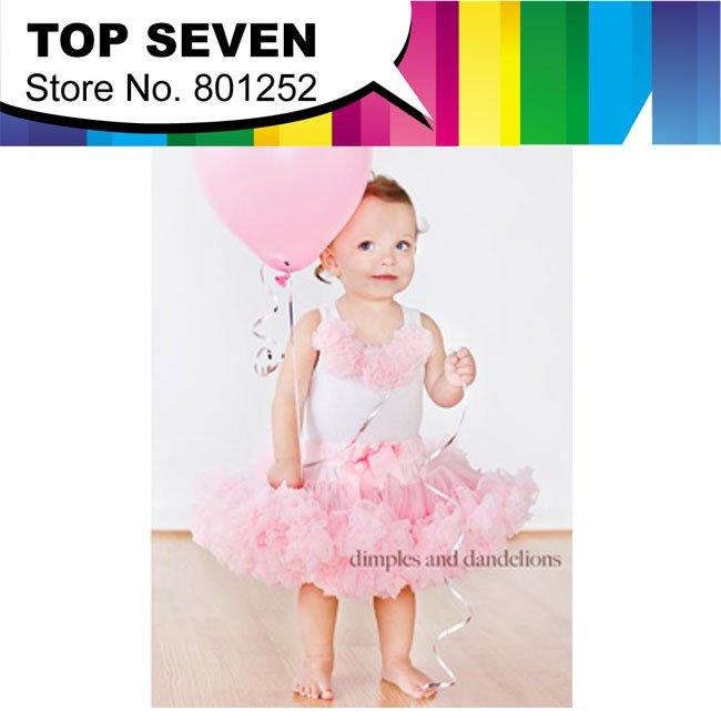 9 set top skirt new arrival baby Dress pettiskirt tutu Dress Girls Tutu