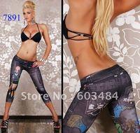 2012 new,CPAM FREE SHIPPING! whole&retail,sexy leggings,fashion pattern leggings, DL7714