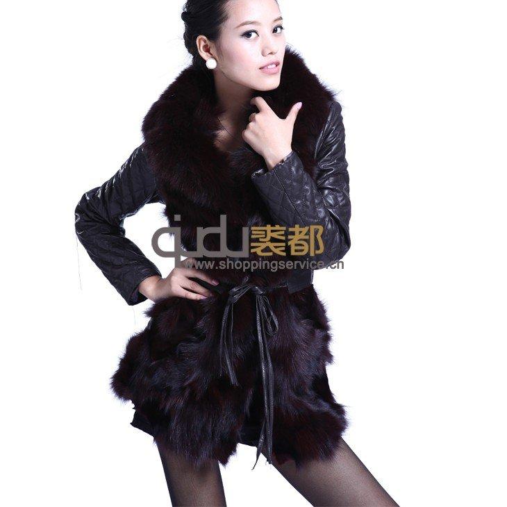 Long leather coat 2