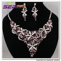 Кольцо Seperwar Rhinestone Crystals Vogue Fushina Shark Bracelet Bangle Shark Cocktail Ring 8# Sets