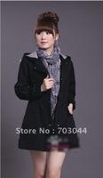 ladies' jacket autumn sweater women's outerwear london ladies' coat free shipping dropship