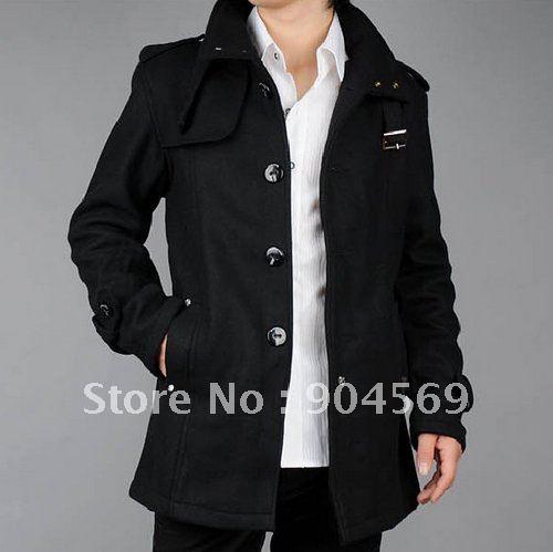 Mens Black Coat Jacket | Outdoor Jacket