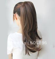 100  human hair ponytails