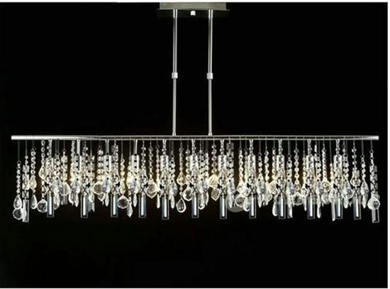 Dining table crystal chandelier dining table - Dining room table chandeliers ...