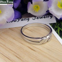 Кольцо R106 Heart Ring Factory Price! High Quality, silver heart ring. fashion jewellry silver rings