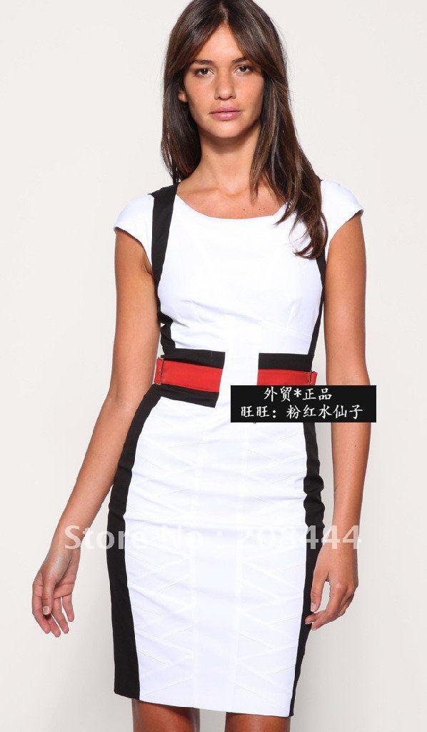 Turmec black short sleeveless dress for Creer dressing
