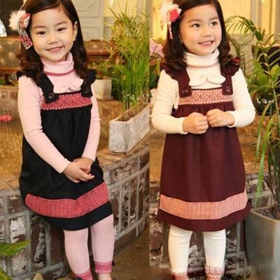 Girls Leggings Kids on Children Girls Dress Long Sleeve T Shirt Leggings 3pieces Set Girls
