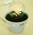 1pcs/lot free shipping Love Fireworks night light,Artificial grass potted plants night lighting,LED Christmas lamp novel gift