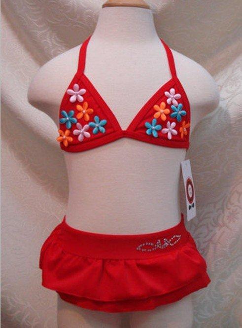 Newest lovely girls swimwear, baby swimwear suit,children beachwear suits 5sets/lot