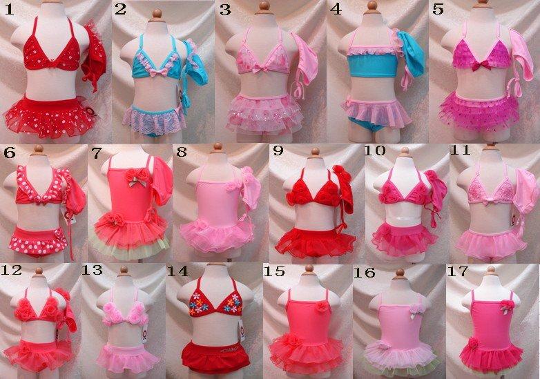 20sets/lot/Baby Girls'lovely Swimsuit/Children Swimwear. Kid Beachwear child swimwear,baby s ...