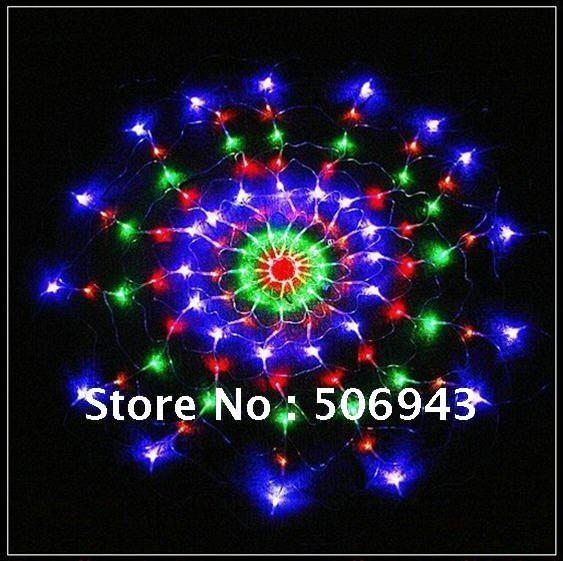 Colorful 120 LED Net Light For