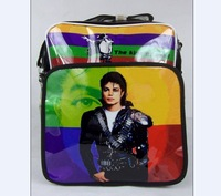 Free shipping wholesale 2011 new  Justin Bieber satchel shoulder bag casual bag student backpack Christmas gifts