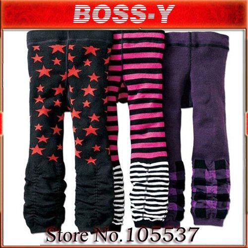 Wholesale new styles  NISSEN baby Leggings tights pants Baby leg warmer 3pcs of 1lot
