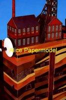 Детский набор для моделирования papermodel] 40 Camii