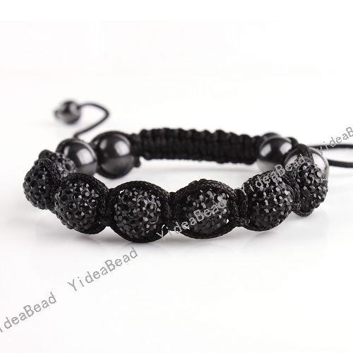 how to make shamballa bracelet instructions